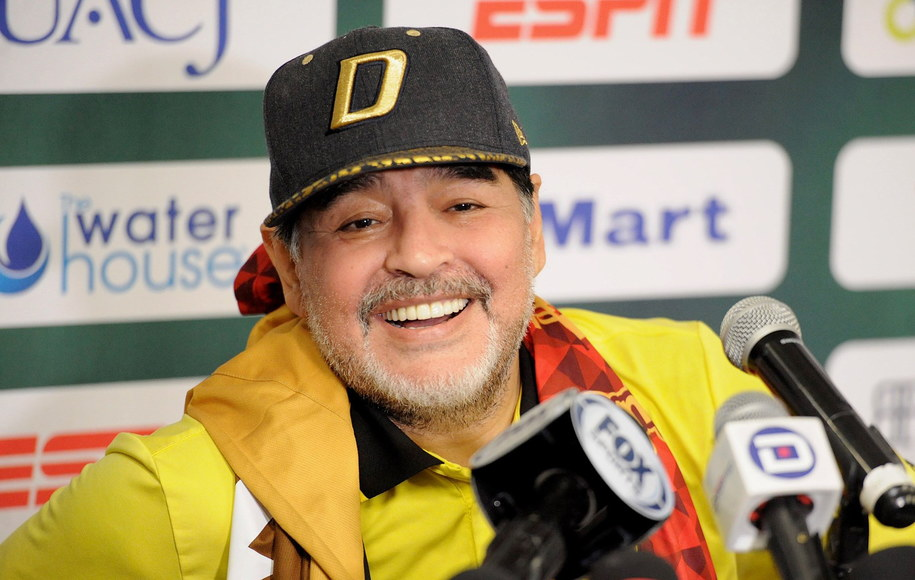 Diego Maradona (zdj. arch.) /HECTOR DAYER /PAP/EPA