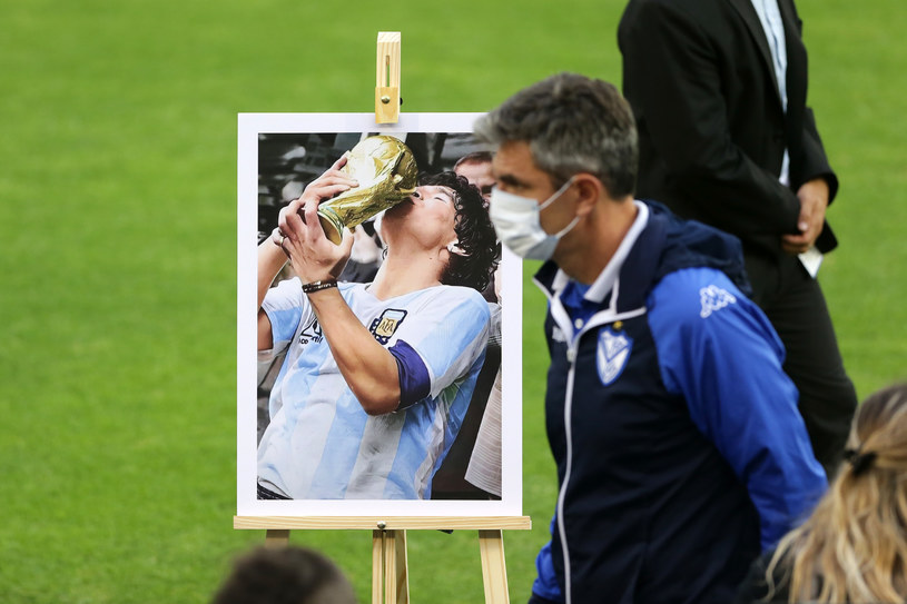Diego Maradona zmarł 25 listopada /Getty Images