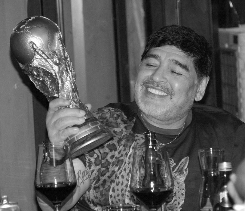 Diego Maradona zmarł w wieku 60 lat /PAP/EPA