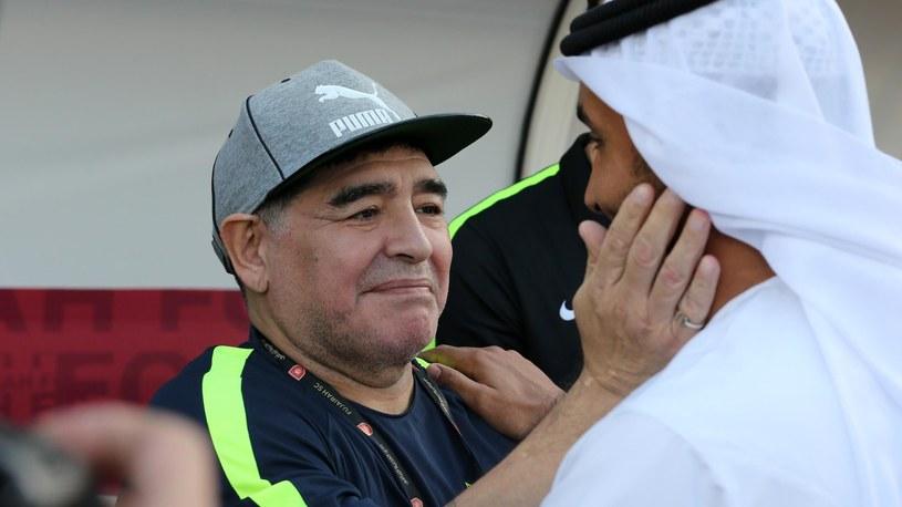 Diego Maradona zrezygnował. /SID