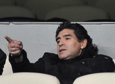 Diego Maradona /INTERIA.PL/PAP