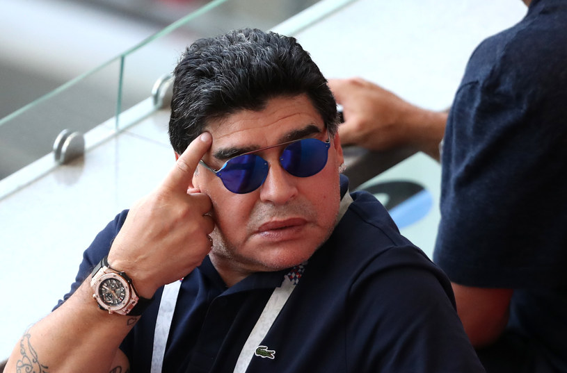Diego Maradona /Catherine Ivill /Getty Images