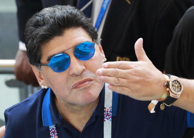 Diego Maradona /ROBERT GHEMENT /PAP/EPA