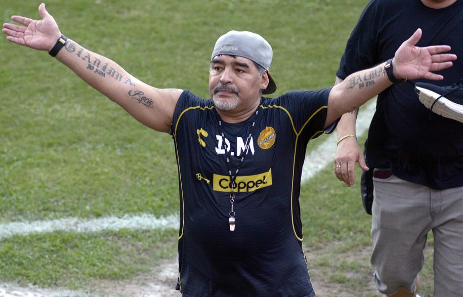 Diego Maradona /JUAN CARLOS CRUZ /PAP/EPA