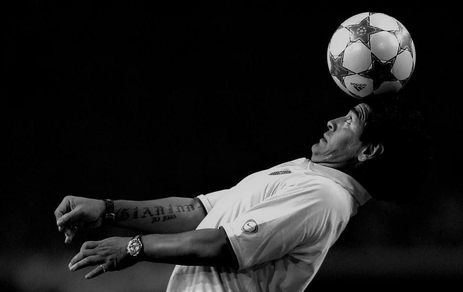 Diego Maradona /Olaf Kraak /PAP/EPA
