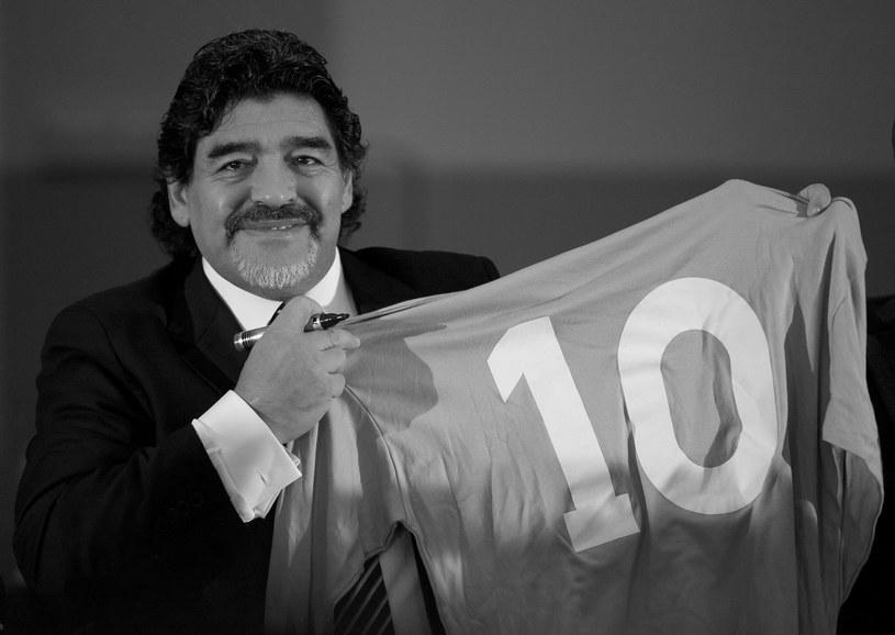 Diego Maradona /CARLO HERMANN /AFP