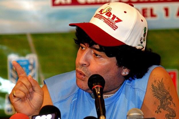 Diego Maradona /ALEJANDRO PAREDES LA VERDAD /PAP/EPA