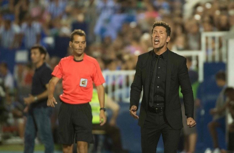 Diego Simeone, trener Atletico Madryt /AFP
