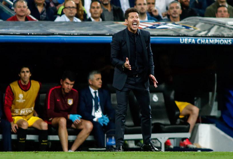 Diego Simeone, trener Atletico /AFP