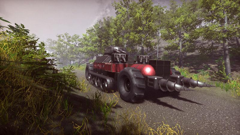 Dieselpunk Wars /materiały prasowe