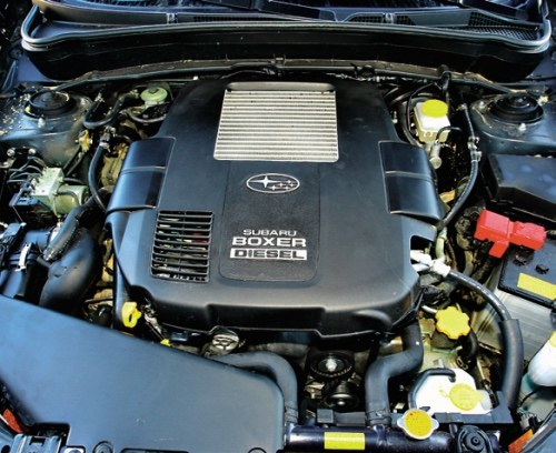 Diesla wprowadzono specjalnie po to, by zwiększyć udział Subaru w rynku europejskim. Sukcesu nie było. /Motor
