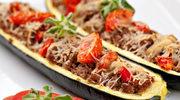Dieta bezglutenowa: Cukinia faszerowana mięsem wołowym