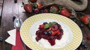 Dieta bezglutenowa: Igloo z ryżu z sosem jogurtowym
