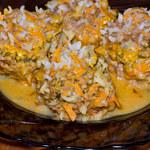 Dieta bezglutenowa: Klops mięsny w sosie z kurek