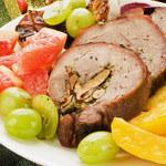 Dieta bezglutenowa: Kolorowa rolada indycza