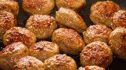 Dieta bezglutenowa: Kotleciki z pieczarek