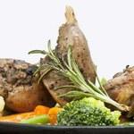 Dieta bezglutenowa: Królik w śmietanie z warzywami