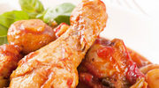 Dieta bezglutenowa: Udka z kurczaka w sosie z podgrzybków