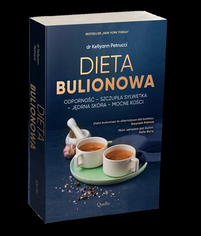 """""""Dieta bulionowa"""" dr Kellyann Petrucci /Materiał prasowy /INTERIA.PL/materiały prasowe"""