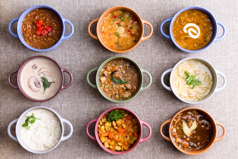 Dieta zupowa jest urozmaicona i smaczna /123RF/PICSEL