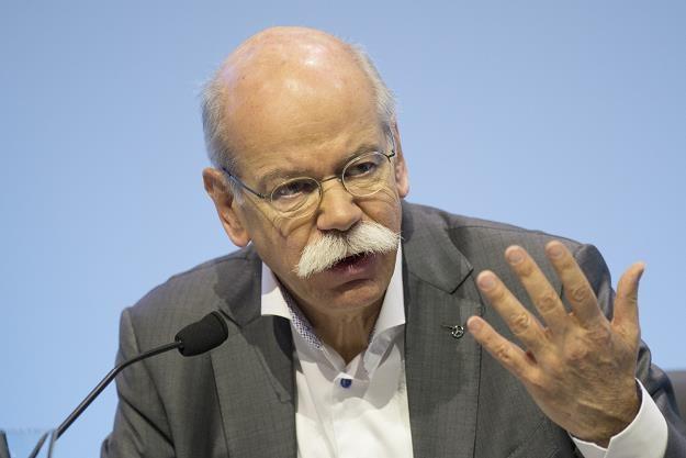 Dieter Zetsche, prezes Daimlera /AFP