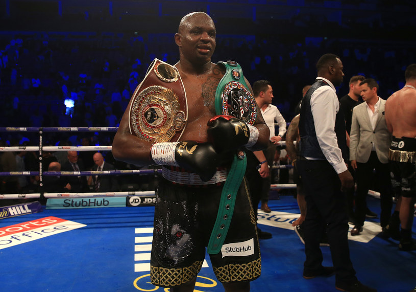 Dillian Whyte /Ben Hoskins /Getty Images
