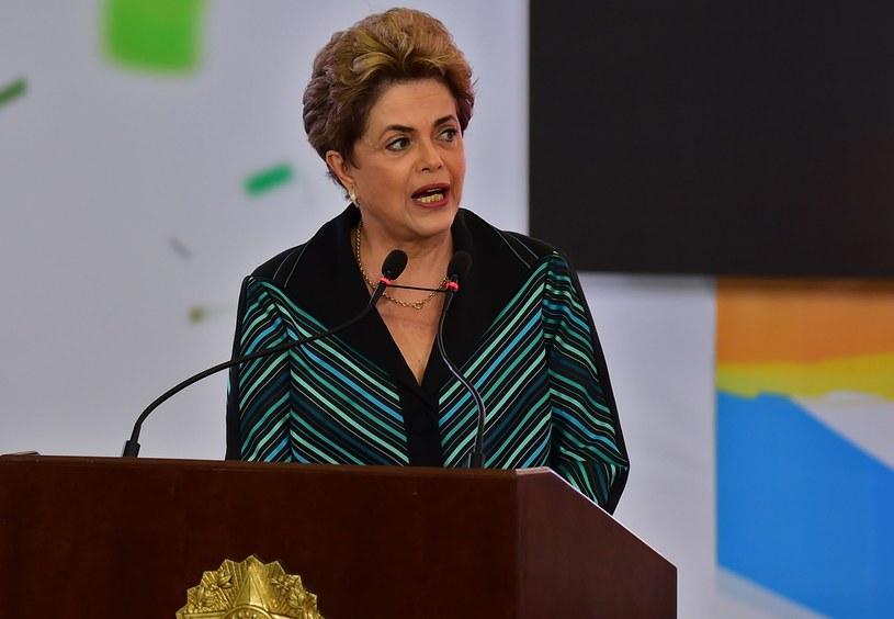 Dilma Rousseff, prezydent Brazylii /AFP