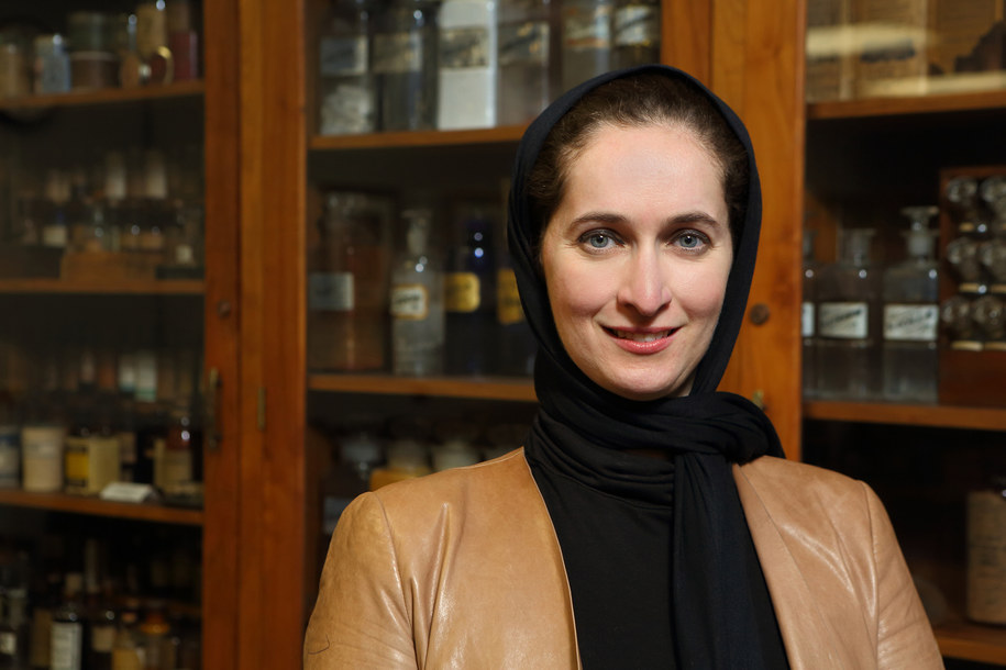 Dima Qato, pierwsza autorka pracy /UIC/JENNY FONTAINE /Materiały prasowe