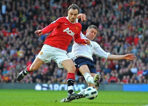Dimitar Berbatov strzelił zwycięskiego gola dla Manchesteru United /AFP