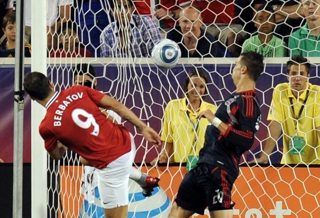 Dimitar Berbatow strzelił gola w meczu z gwiazdami MLS /AFP