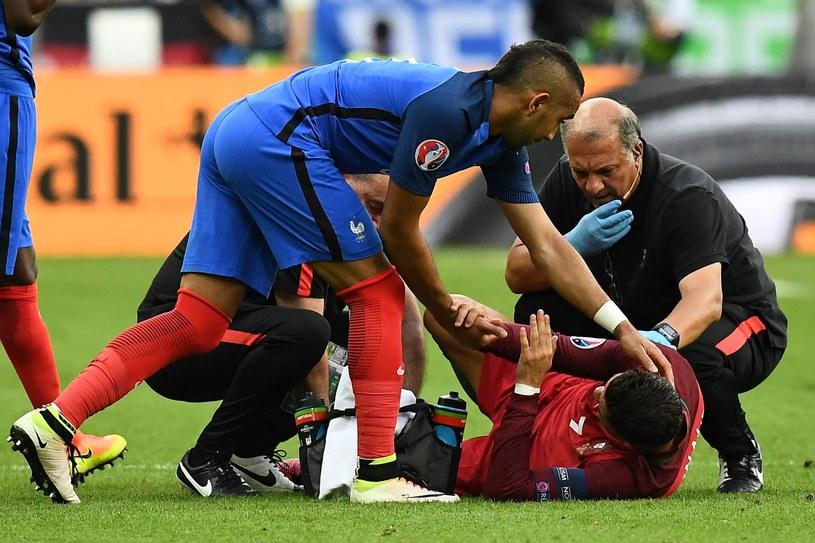 Dimitri Payet przeprasza Cristiana Ronalda /AFP