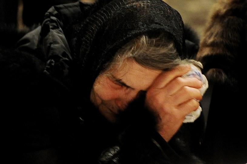 Dina Eidman, matka Niemcowa /AFP