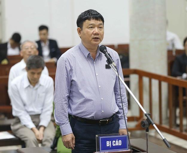 Dinh La Thang, b. członek politbiura i b. szef PetroVietnamu /AFP