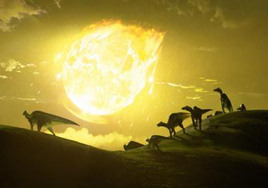 Dinozaury miały wielkiego pecha. Kosmiczna skała uderzyła pod najgorszym kątem