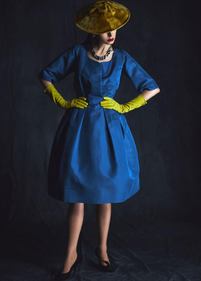 Dior. New Look  lata  pięćdziesiąte ubiegłego stulecia. Modelka: Joanna Glinkowska /Michał Radwański
