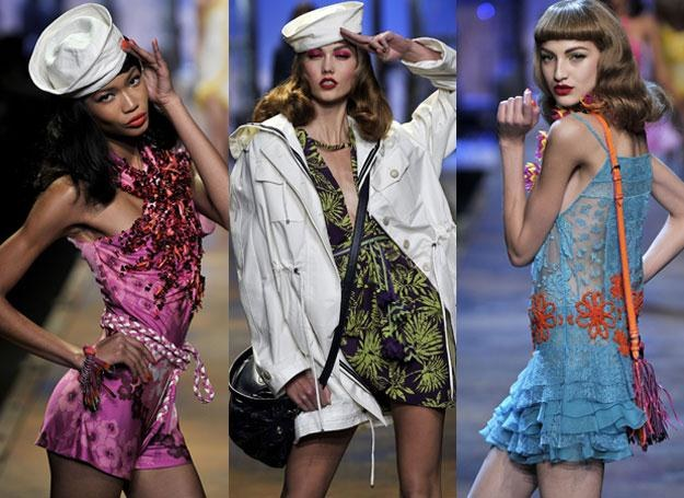 Dior wiosna - lato 2011 /East News/ Zeppelin