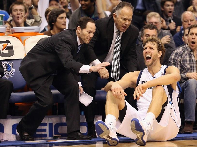 Dirk Nowitzki z Dallas Mavericks /AFP