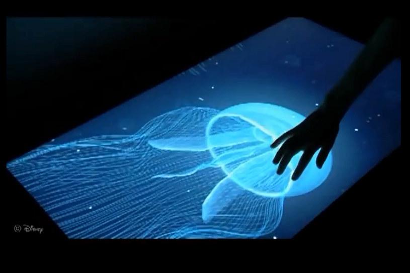 Disney Research zaprezentował ekran dotykowy, który umożliwia odczuwanie kształtów /materiały prasowe