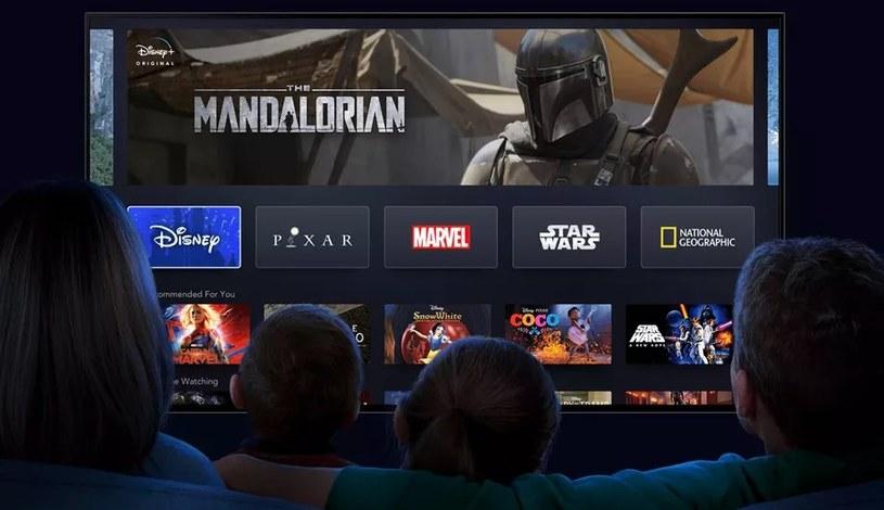 Disney+ za kilka miesięcy może być największym konkurentem Netfliksa /materiały prasowe