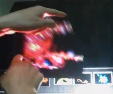 DisplAir - holograficzny ekran dotykowy