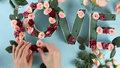 DIY: Kwiatowy napis na romatyczne okazje