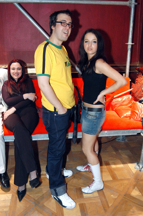 DJ Adamus i Monika Brodka /- /AKPA