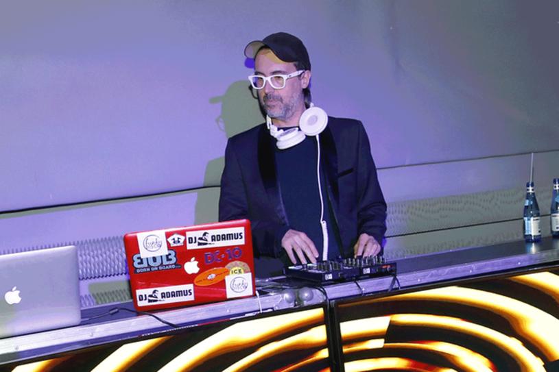 DJ Adamus zapewnił oprawę muzyczną / Piotr Podlewski /AKPA