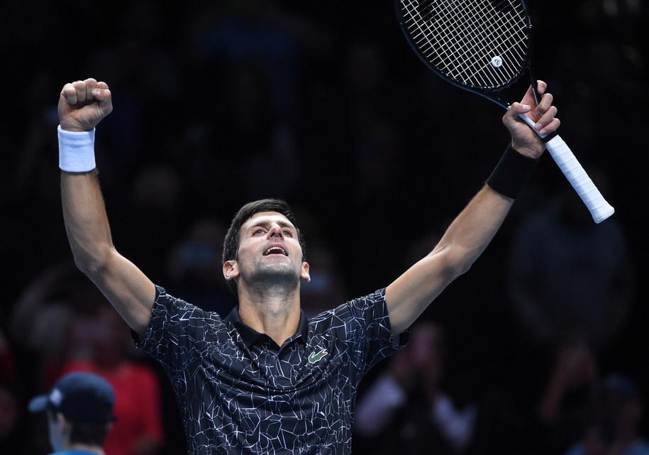 Djokovic w dobrym stylu rozpoczął zmagania o szósty tytuł w turnieju masters /FACUNDO ARRIZABALAGA /PAP/EPA