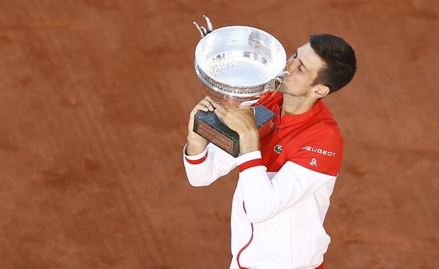 Djokovic znów rządzi w Paryżu! Serb wygrał French Open