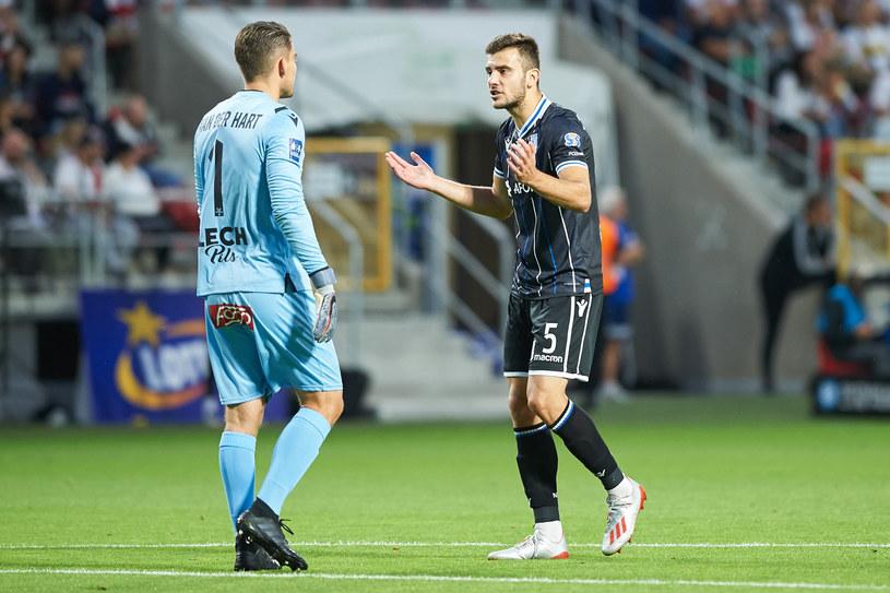 Djordje Crnomarković (w czarnej koszulce) /Fot. Lukasz Szelag/REPORTER /East News