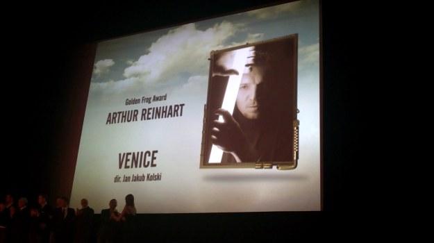Dla Artura Reinharta to już druga Złota Żaba w karierze /INTERIA.PL