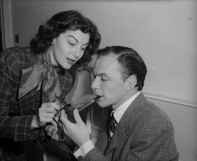 Dla Avy Gardner zostawił pierwszą żonę - Nancy. O ich małżeństwie mówił cały świat, a oni na przemian kłócili się i godzili /Getty Images