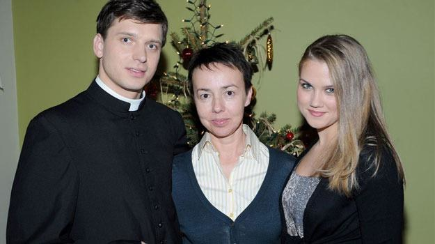 Dla Bożenki (Agnieszka Kaczorowska) to będą wyjątkowe święta /Agencja W. Impact
