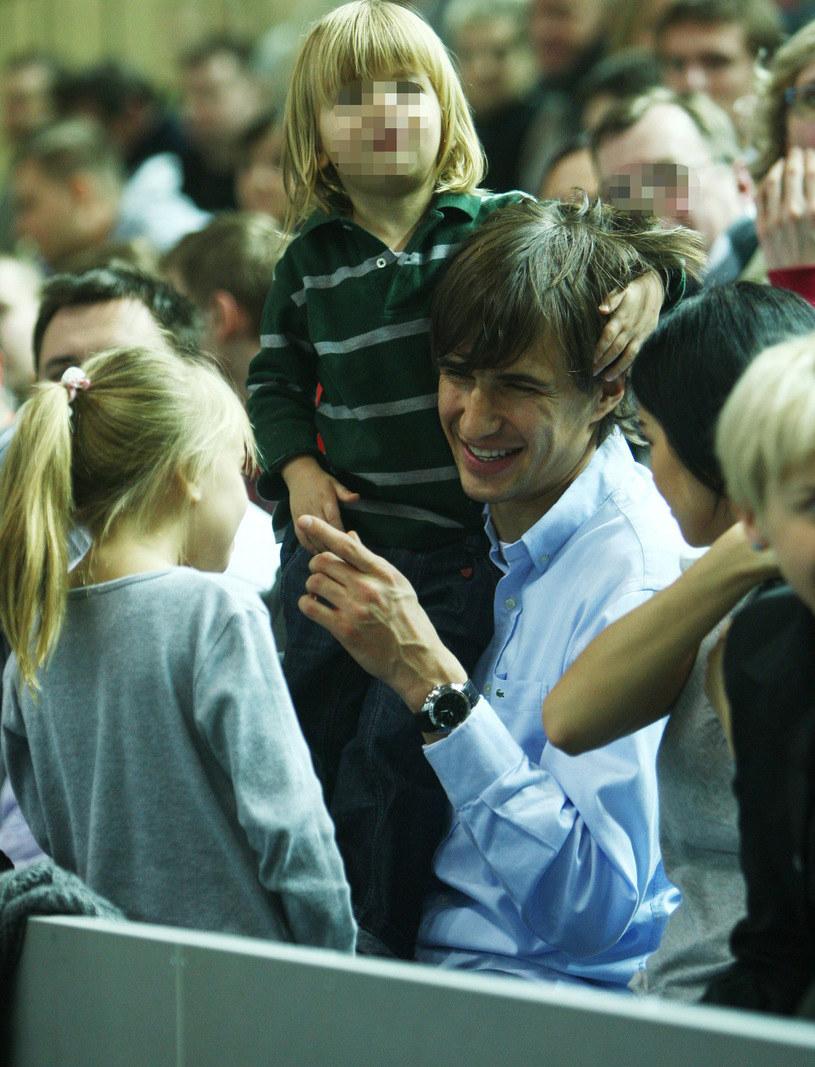 Dla Jarka najważniejsze są teraz dzieci /Łukasz Ostalski /East News